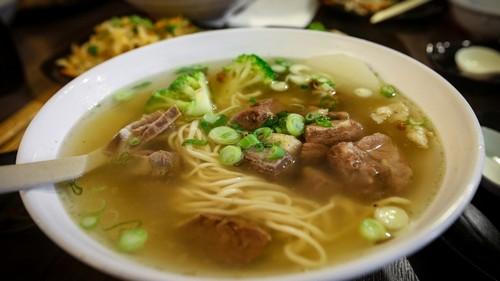 Мясной суп
