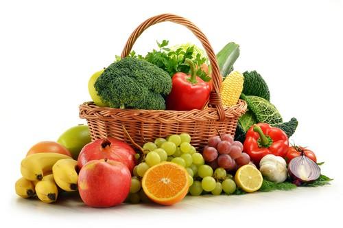 Какие фрукты и овощи разрешается употреблять в пищу