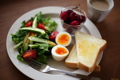 Правильный завтрак при изжоге