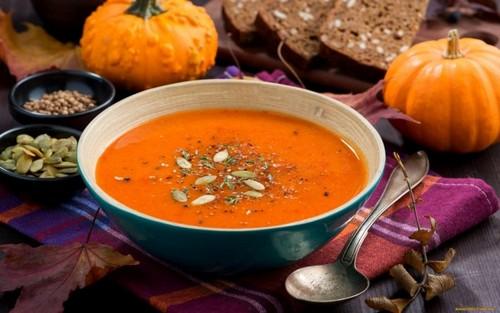Суп – пюре с тыквой