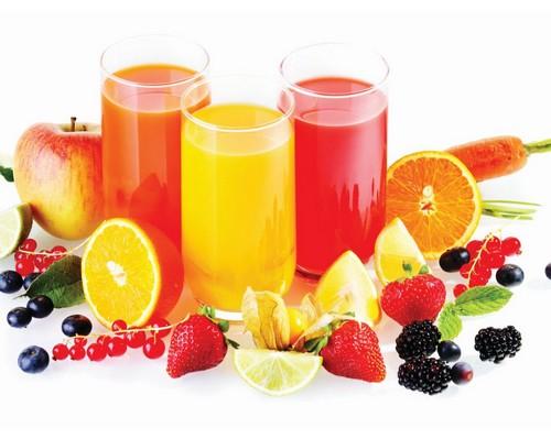 В составе соков огромное количество витаминов