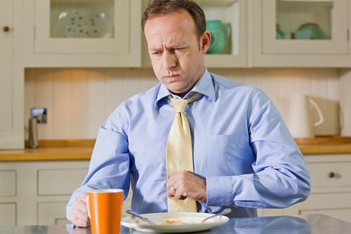 Кашель усиливается во время еды