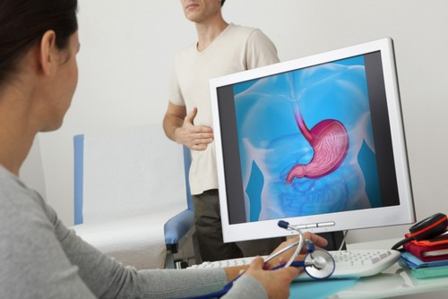 Обследование желудка