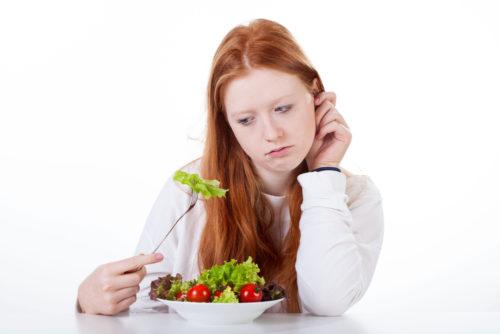 Потеря аппетита при женском метеоризме