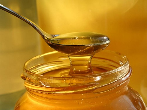 Вместо сахара можно использовать мед