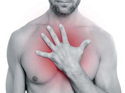 Боль в пищеводе в районе грудной клетки при глотании