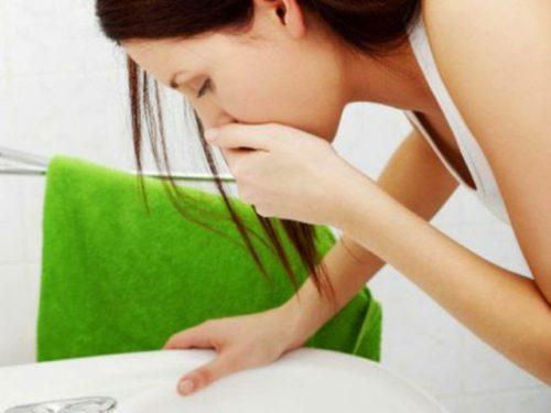 Тошнота и рвота при дисфункции желчного пузыря