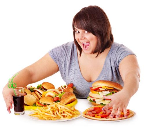 Неправильное питание, излишнее употребление жирной, соленой, острой еды