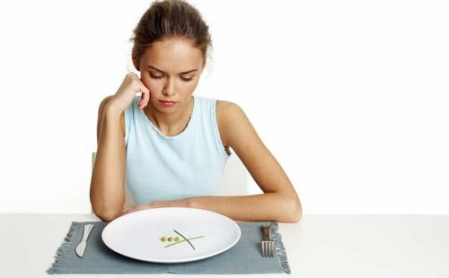 Болезненные симптомы проходят в первые дни воздержания от пищи