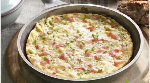 Омлет из перепелиных яиц с сыром