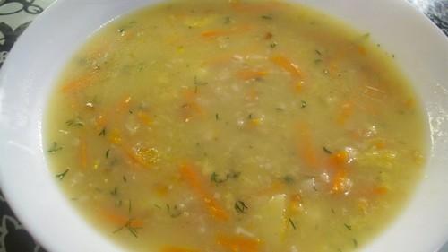 Суп из овсянки