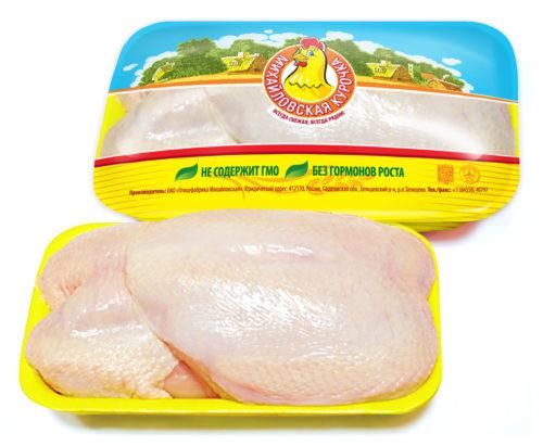 Курица в упаковке